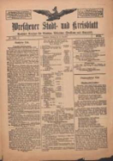 Wreschener Stadt und Kreisblatt: amtlicher Anzeiger für Wreschen, Miloslaw, Strzalkowo und Umgegend 1912.12.24 Nr154