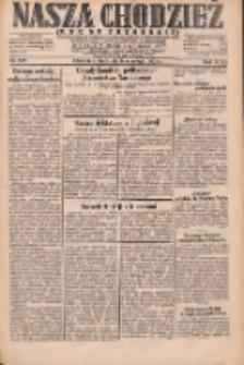 Nasza Chodzież: dziennik poświęcony obronie interesów narodowych na zachodnich ziemiach Polski 1931.09.06 R.9(2) Nr205