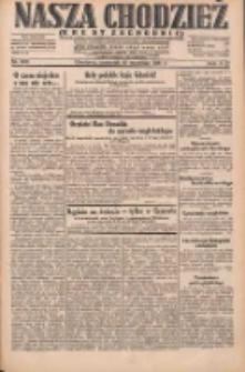 Nasza Chodzież: dziennik poświęcony obronie interesów narodowych na zachodnich ziemiach Polski 1931.09.10 R.9(2) Nr208