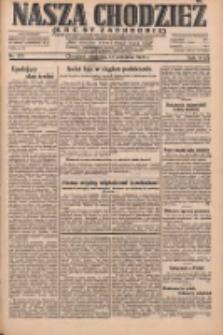 Nasza Chodzież: dziennik poświęcony obronie interesów narodowych na zachodnich ziemiach Polski 1931.09.13 R.9(2) Nr211