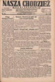 Nasza Chodzież: dziennik poświęcony obronie interesów narodowych na zachodnich ziemiach Polski 1931.09.18 R.9(2) Nr215