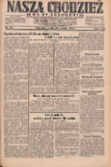 Nasza Chodzież: dziennik poświęcony obronie interesów narodowych na zachodnich ziemiach Polski 1931.09.19 R.9(2) Nr216