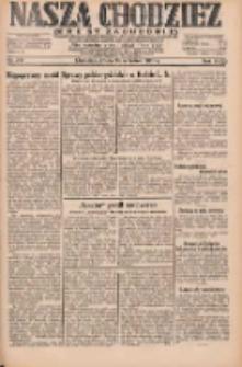 Nasza Chodzież: dziennik poświęcony obronie interesów narodowych na zachodnich ziemiach Polski 1931.09.23 R.9(2) Nr219