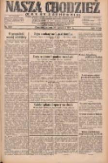 Nasza Chodzież: dziennik poświęcony obronie interesów narodowych na zachodnich ziemiach Polski 1931.09.26 R.9(2) Nr222