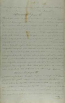 List papieża Aleksandra VI do króla Jana Olbrachta, Rzym 25.05.1500