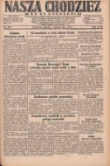 Nasza Chodzież: dziennik poświęcony obronie interesów narodowych na zachodnich ziemiach Polski 1931.10.02 R.9(2) Nr227