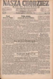 Nasza Chodzież: dziennik poświęcony obronie interesów narodowych na zachodnich ziemiach Polski 1931.10.03 R.9(2) Nr228
