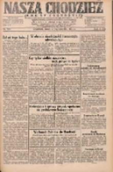 Nasza Chodzież: dziennik poświęcony obronie interesów narodowych na zachodnich ziemiach Polski 1931.10.07 R.9(2) Nr231