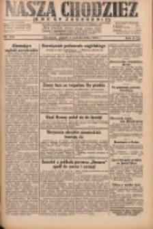 Nasza Chodzież: dziennik poświęcony obronie interesów narodowych na zachodnich ziemiach Polski 1931.10.09 R.9(2) Nr233
