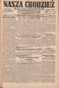 Nasza Chodzież: dziennik poświęcony obronie interesów narodowych na zachodnich ziemiach Polski 1931.10.21 R.9(2) Nr243