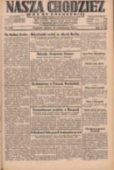 Nasza Chodzież: dziennik poświęcony obronie interesów narodowych na zachodnich ziemiach Polski 1931.10.24 R.9(2) Nr246