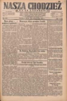 Nasza Chodzież: dziennik poświęcony obronie interesów narodowych na zachodnich ziemiach Polski 1931.10.28 R.9(2) Nr249