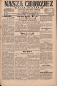 Nasza Chodzież: dziennik poświęcony obronie interesów narodowych na zachodnich ziemiach Polski 1931.10.30 R.9(2) Nr251