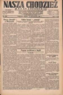 Nasza Chodzież: dziennik poświęcony obronie interesów narodowych na zachodnich ziemiach Polski 1931.10.31 R.9(2) Nr252