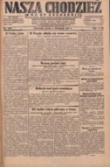 Nasza Chodzież: dziennik poświęcony obronie interesów narodowych na zachodnich ziemiach Polski 1931.11.04 R.9(2) Nr255