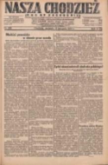 Nasza Chodzież: dziennik poświęcony obronie interesów narodowych na zachodnich ziemiach Polski 1931.11.15 R.9(2) Nr265
