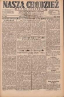 Nasza Chodzież: dziennik poświęcony obronie interesów narodowych na zachodnich ziemiach Polski 1931.11.19 R.9(2) Nr268