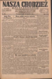 Nasza Chodzież: dziennik poświęcony obronie interesów narodowych na zachodnich ziemiach Polski 1931.11.20 R.9(2) Nr269