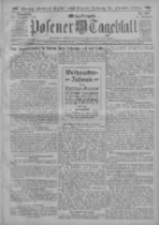 Posener Tageblatt 1912.12.14 Jg.51 Nr587