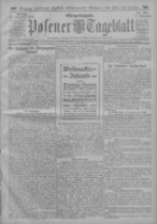Posener Tageblatt 1912.12.20 Jg.51 Nr597