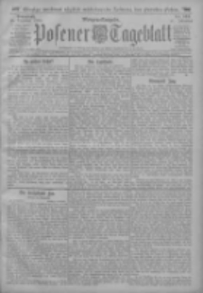 Posener Tageblatt 1912.12.21 Jg.51 Nr598
