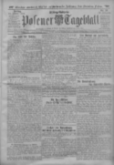 Posener Tageblatt 1913.01.17 Jg.52 Nr28