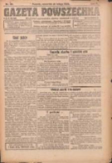 Gazeta Powszechna 1924.02.21 R.5 Nr43