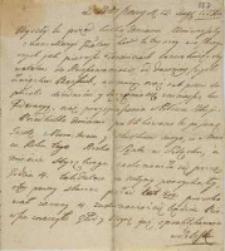 Z Warszawy 12.08.1773