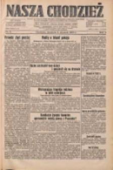 Nasza Chodzież: dziennik poświęcony obronie interesów narodowych na zachodnich ziemiach Polski 1933.01.08 R.4 Nr6