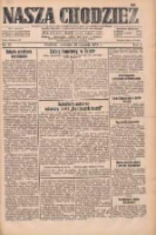 Nasza Chodzież: dziennik poświęcony obronie interesów narodowych na zachodnich ziemiach Polski 1933.01.26 R.4 Nr21