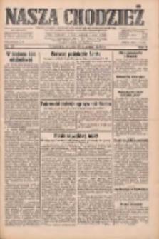 Nasza Chodzież: dziennik poświęcony obronie interesów narodowych na zachodnich ziemiach Polski 1933.01.28 R.4 Nr23