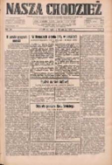 Nasza Chodzież: dziennik poświęcony obronie interesów narodowych na zachodnich ziemiach Polski 1933.02.11 R.4 Nr34