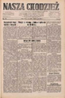 Nasza Chodzież: dziennik poświęcony obronie interesów narodowych na zachodnich ziemiach Polski 1933.02.16 R.4 Nr38