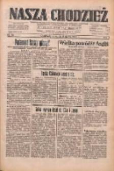 Nasza Chodzież: dziennik poświęcony obronie interesów narodowych na zachodnich ziemiach Polski 1933.03.02 R.4 Nr50