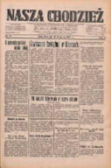 Nasza Chodzież: dziennik poświęcony obronie interesów narodowych na zachodnich ziemiach Polski 1933.03.03 R.4 Nr51