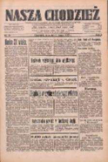 Nasza Chodzież: dziennik poświęcony obronie interesów narodowych na zachodnich ziemiach Polski 1933.03.09 R.4 Nr56