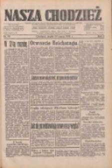 Nasza Chodzież: dziennik poświęcony obronie interesów narodowych na zachodnich ziemiach Polski 1933.03.24 R.4 Nr69