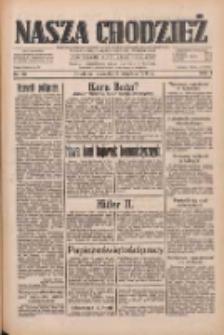 Nasza Chodzież: dziennik poświęcony obronie interesów narodowych na zachodnich ziemiach Polski 1933.04.06 R.4 Nr80