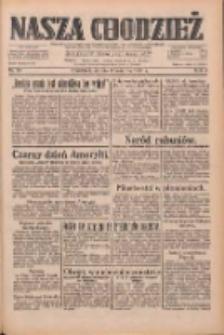 Nasza Chodzież: dziennik poświęcony obronie interesów narodowych na zachodnich ziemiach Polski 1933.04.08 R.4 Nr82
