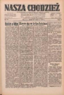 Nasza Chodzież: dziennik poświęcony obronie interesów narodowych na zachodnich ziemiach Polski 1933.04.11 R.4 Nr84