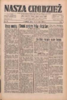 Nasza Chodzież: dziennik poświęcony obronie interesów narodowych na zachodnich ziemiach Polski 1933.04.12 R.4 Nr85