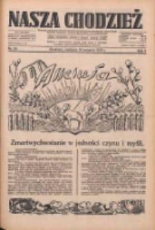 Nasza Chodzież: dziennik poświęcony obronie interesów narodowych na zachodnich ziemiach Polski 1933.04.16 R.4 Nr89
