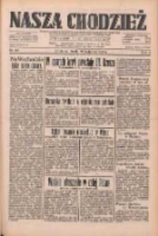 Nasza Chodzież: dziennik poświęcony obronie interesów narodowych na zachodnich ziemiach Polski 1933.04.19 R.4 Nr90