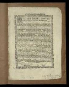 Formulare admissionis ad gratias et merita Ordinis Minorum de Regulari Observantia.]