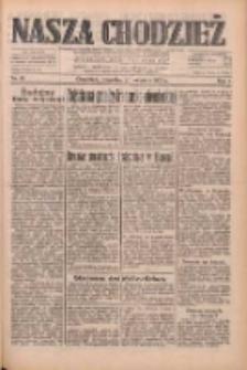 Nasza Chodzież: dziennik poświęcony obronie interesów narodowych na zachodnich ziemiach Polski 1933.04.20 R.4 Nr91