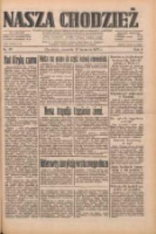 Nasza Chodzież: dziennik poświęcony obronie interesów narodowych na zachodnich ziemiach Polski 1933.04.27 R.4 Nr97