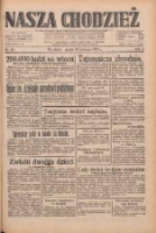 Nasza Chodzież: dziennik poświęcony obronie interesów narodowych na zachodnich ziemiach Polski 1933.04.28 R.4 Nr98