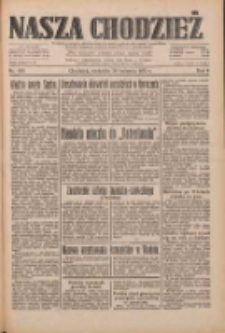 Nasza Chodzież: dziennik poświęcony obronie interesów narodowych na zachodnich ziemiach Polski 1933.04.30 R.4 Nr100
