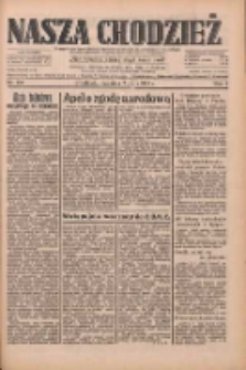 Nasza Chodzież: dziennik poświęcony obronie interesów narodowych na zachodnich ziemiach Polski 1933.05.07 R.4 Nr105