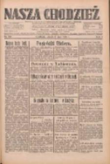 Nasza Chodzież: dziennik poświęcony obronie interesów narodowych na zachodnich ziemiach Polski 1933.05.09 R.4 Nr106